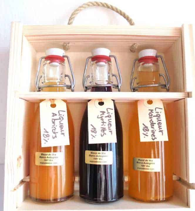 Coffret liqueur ou eau-de-vie Liqueurs liqueur artisanale