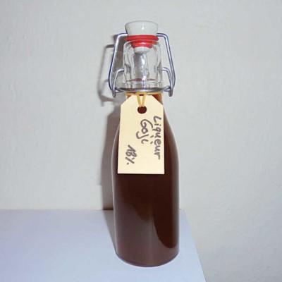 mazot de vex liqueur goji artisanale