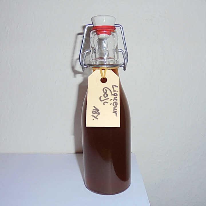 Liqueur goji