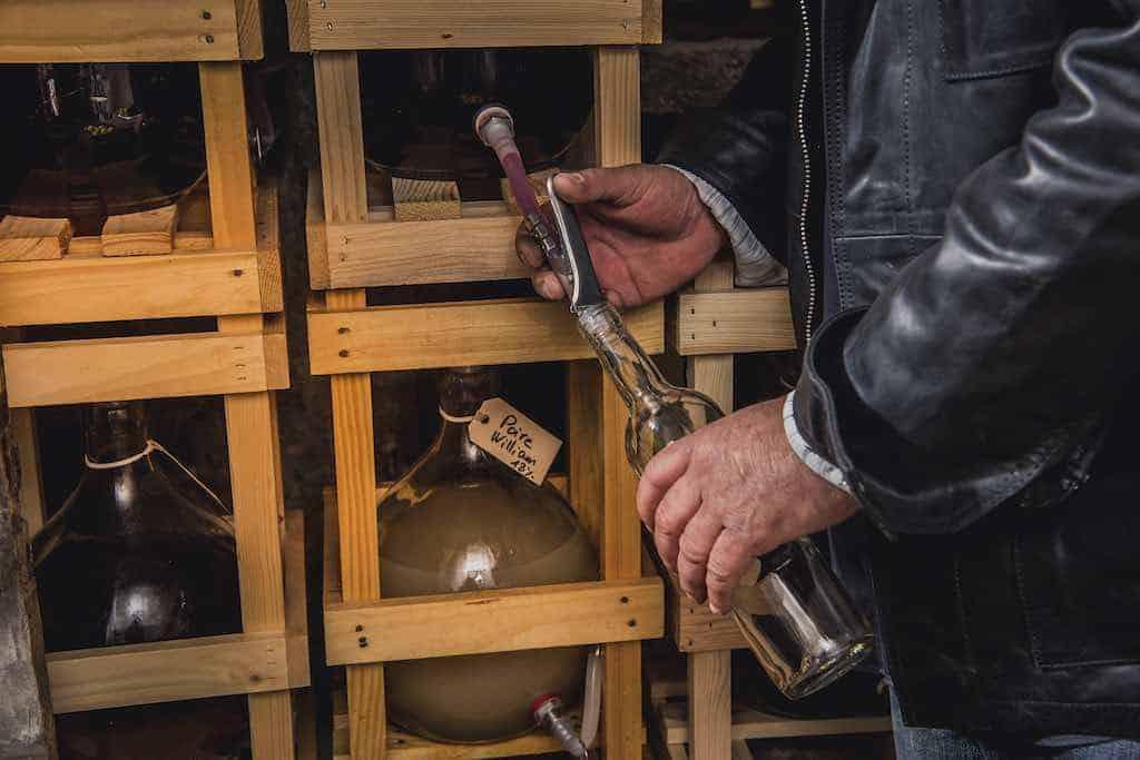 mazot de vex liqueur et eau-de-vie artisanale